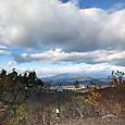 本山頂上からの鶏頂山からの眺め