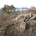 本山の頂上