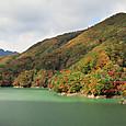 川俣湖の紅葉(2013/10/27)