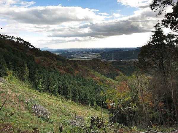 篠井連峰の稜線からの眺望