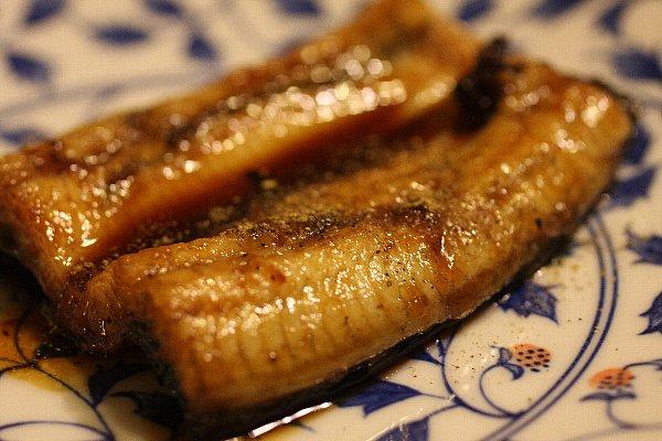 鰻の白焼きを使った蒲焼