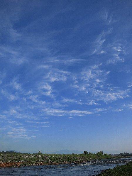 早朝の鬼怒川