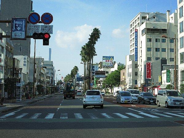 灼熱の日差し in 南九州