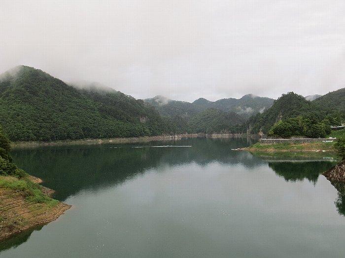 川俣湖(栃木県日光市川俣地区)