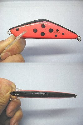 荒川サーモン用YSミノー(軽量タイプ、93mm、22g、HS)(2009/12/2)