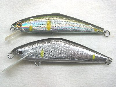 Dコンタクト85とYSミノー(2009/3/4)