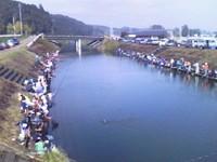 山田川「子ども釣り大会」