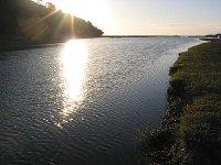 開始前の木戸川