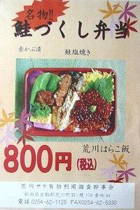 鮭づくし弁当(800円)