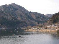 東古屋湖解禁日の様子(2008/3/2)