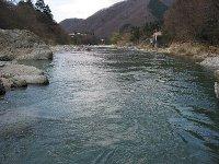 鬼怒川(藤原地区・上滝オートキャンプ場)
