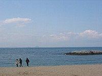 2008年春の瀬戸内海(愛媛県松山市)の風景