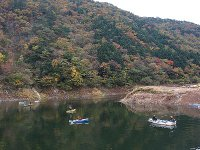 東古屋湖釣行(2008/11/9)
