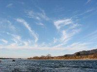 荒川のきれいな空