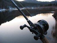東古屋湖で釣り納め(2008/12/29)