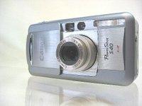 サトーカメラ・大中古市で買った「キャノン・パワーショットS40」