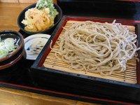 ふれあいの里しおや(栃木県塩谷町)の「天ぷらもりそば」