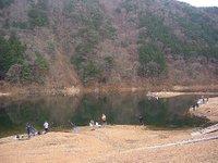 東古屋湖・無料開放日の様子(2009/12/30)