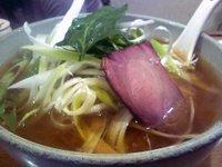 鯛だし焼豚麺 いのししチャーシュー入り(那須の白美人ねぎ入り)