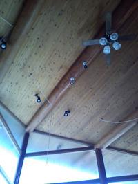 陶里庵の天井