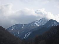萱峠大橋から見た男体山&太郎山