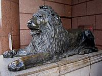 三越前のライオン