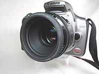 Canon EF50mm F1.8Ⅱ+キスデジ(初期型)