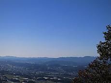 古賀志山から見た富士山