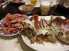 愛媛県西条市産のワタリガニ&地エビ