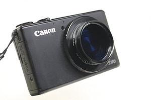 PLフィルターを装着したキャノン パワーショット S110