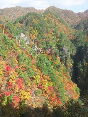 瀬戸合峡の紅葉(2013/10/27)