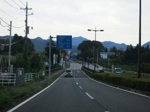 鬼怒川・川治地区C&Rへ向かう途中