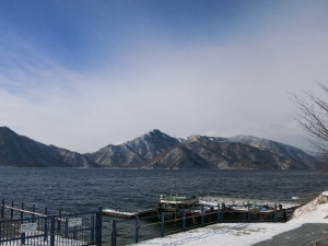 中禅寺湖で必釣祈願