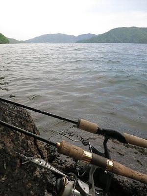 2015中禅寺湖特別解禁のタックル