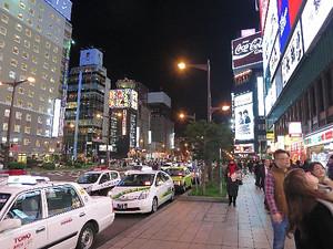 札幌すすきのの夜