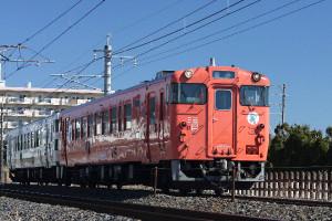 烏山線「キハ40形」1004-1009