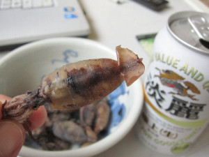 愛媛県産「子いかの干物」