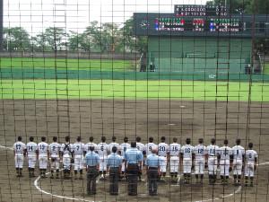 石橋高校が夏の栃木県大会ベスト8進出
