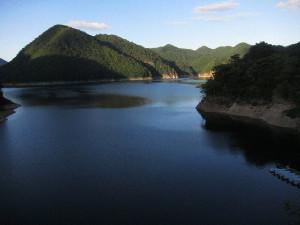 川俣湖釣行(2017/09/03)