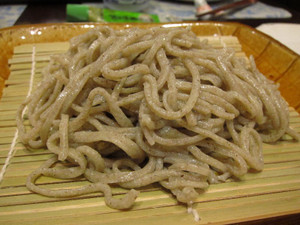 年越しは、那珂川町産地粉を使った手打ちそば