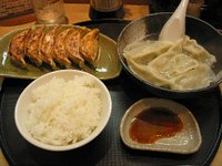 中国飯店の餃子