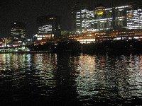 屋形船から見たお台場の夜景