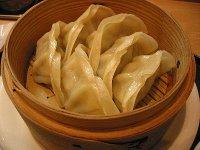 中国飯店の「蒸し餃子定食」