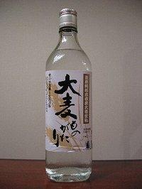 栃木県産大麦使用の焼酎「大麦ものがたり」