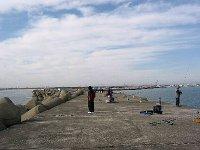 日立港(新堤防)