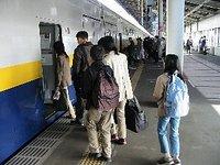 JR宇都宮駅で見送り
