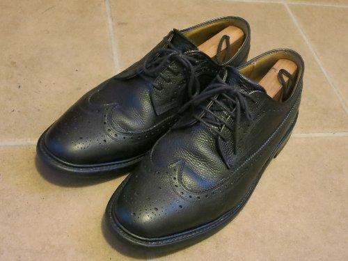 革靴の磨き初め