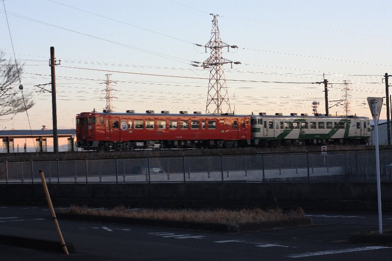 2017年3月3日、烏山線のディーゼル列車「キハ40形」のファイナルラン