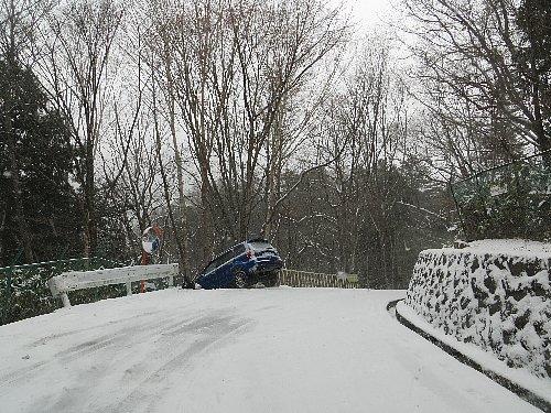 雪道での事故