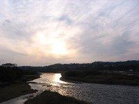 2009年2月の那珂川